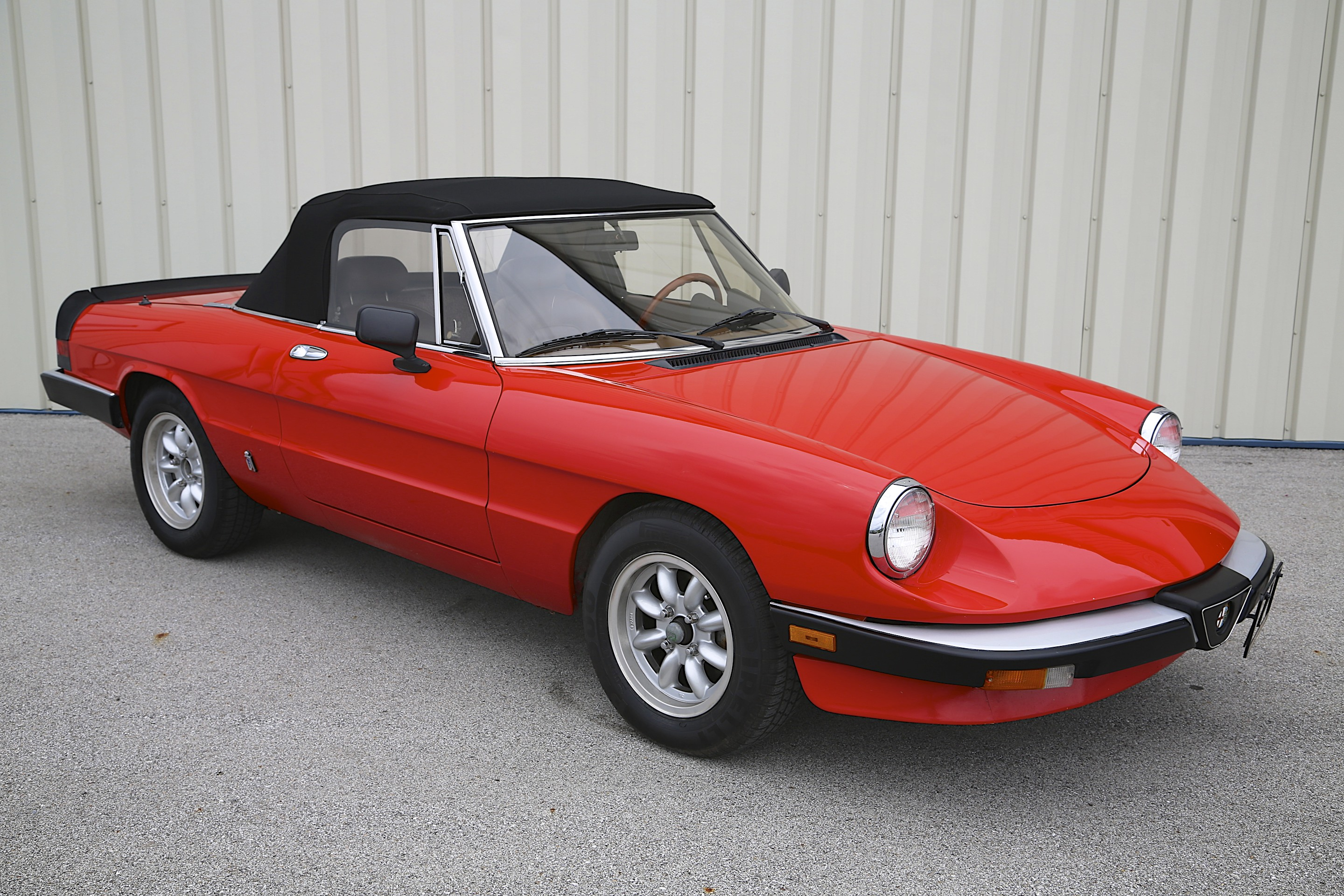 1985 alfa romeo spider graduate skunk river restorations. Black Bedroom Furniture Sets. Home Design Ideas