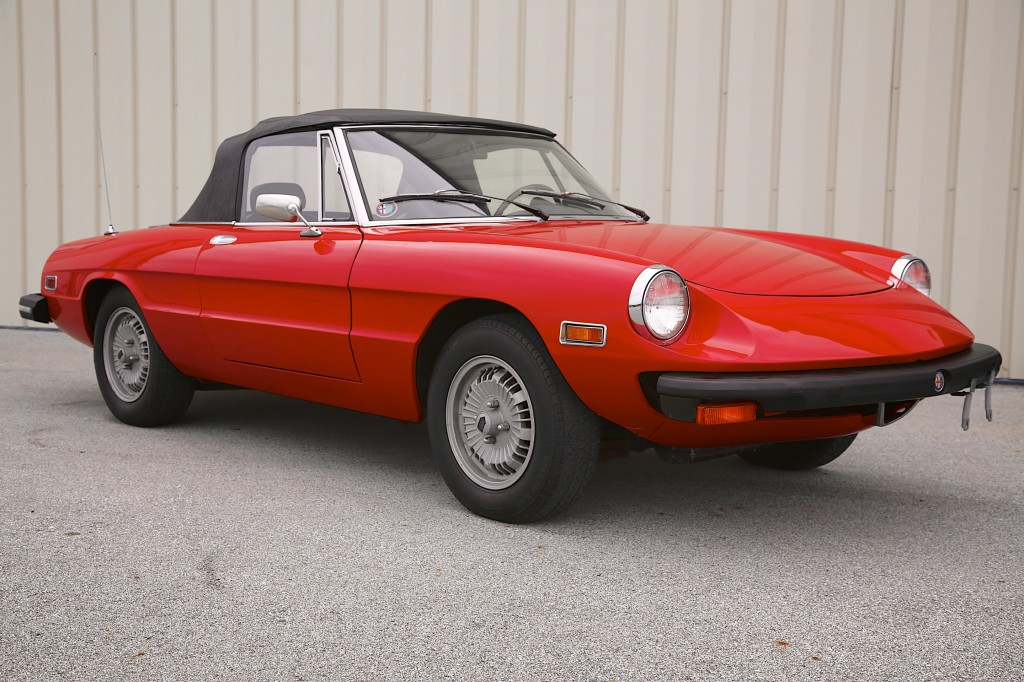 1977 Alfa Romeo Spider Veloce