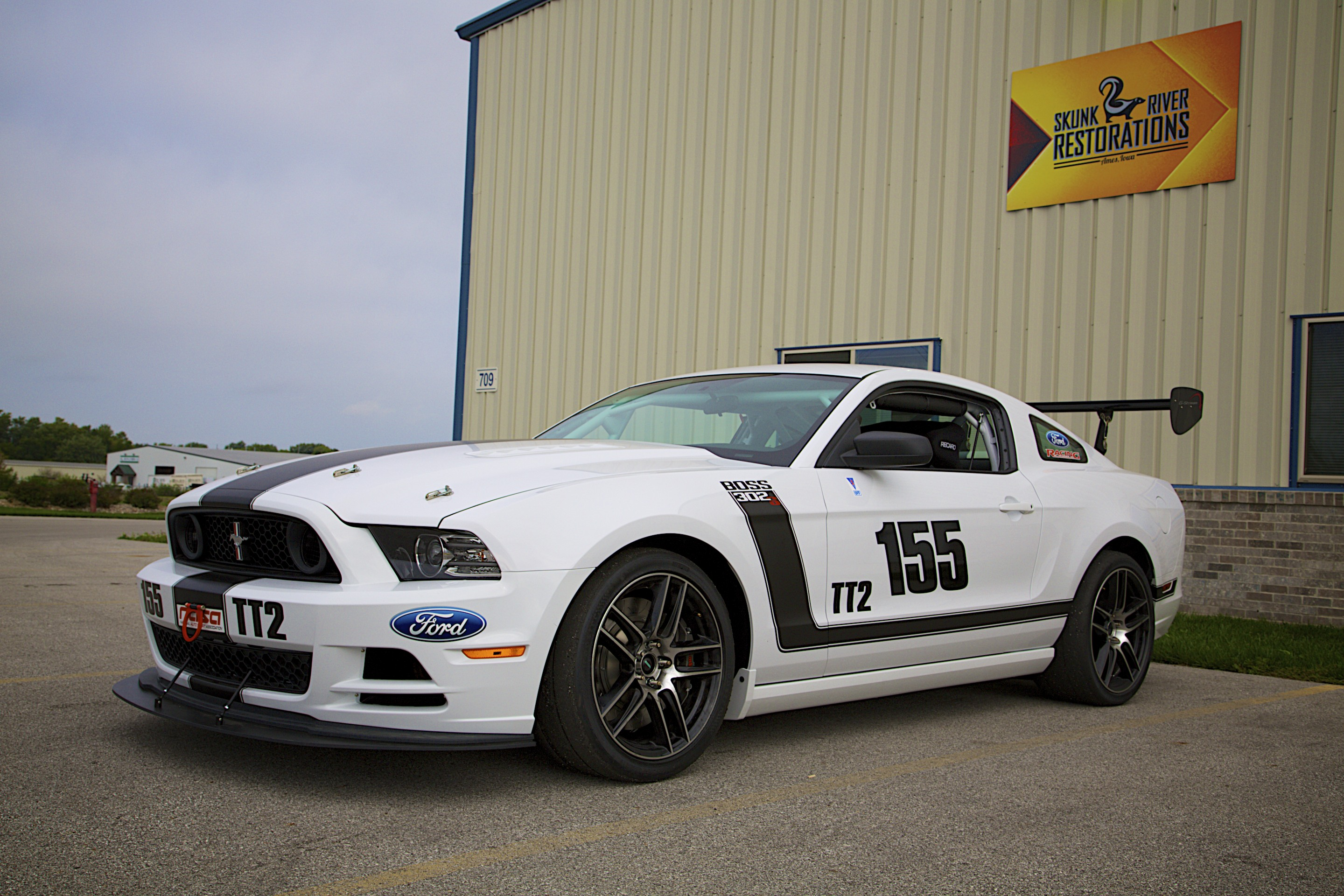 Ford Mustang Boss 302s Skunk River Restorations 2014