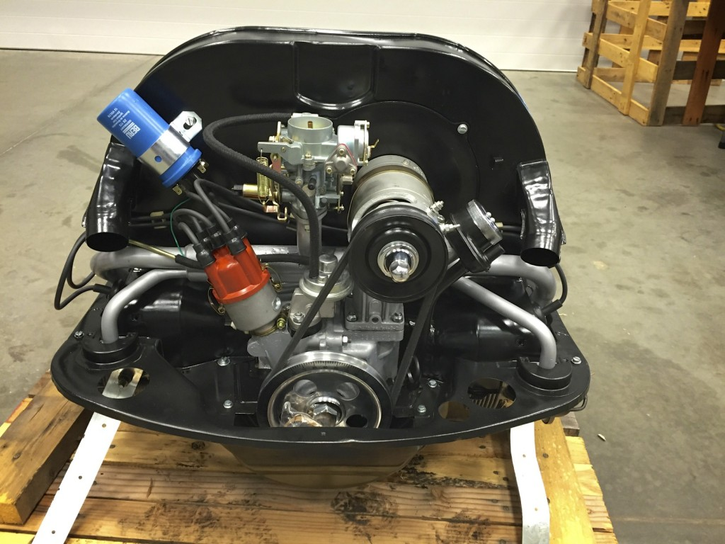 Volkswagen crate engine skunk river restorations Vw crate motor