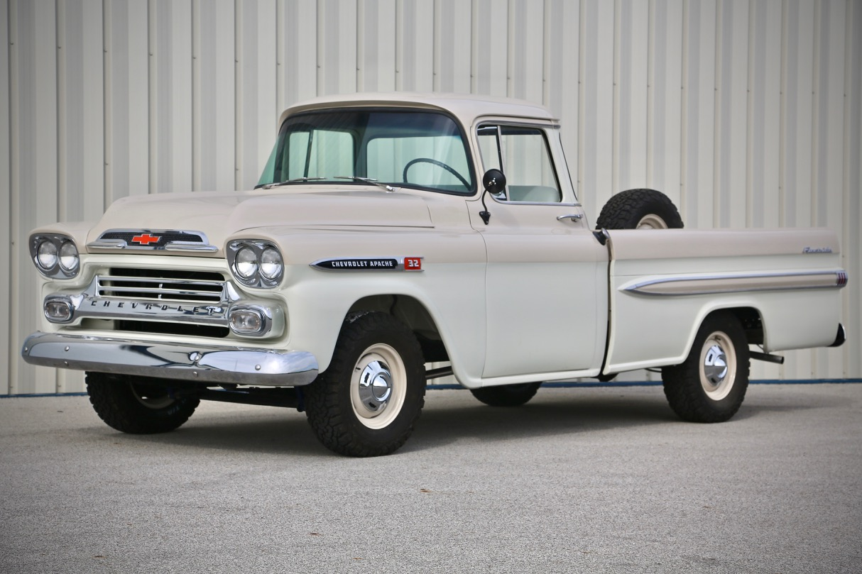 1955 chevy truck car clubs autos post - The Chevrolet Task Force Series Of Trucks Started In 1955 And 1958 Was The First Year For The Fleetside Bed All Light Duty Trucks Were Now Called Apache